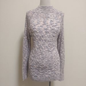 3for$20 purple white pink blend sweater m